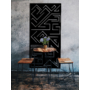 Kép 2/3 - Rubic - 625x625 Fapanel Fekete